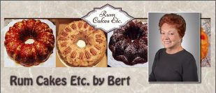 Rum Cakes Etc. By Bert